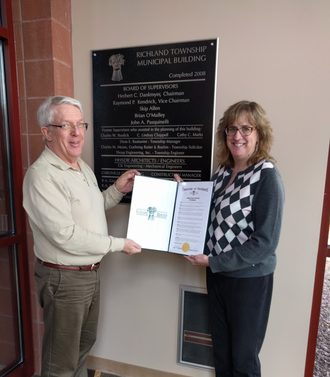 Richland Township Proclamation – Allegheny County Library